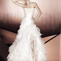 Wedding Dresses With Thigh High Slits