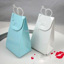 Wedding Favor Boxes Gift Paper Bags Candy Boxes Europe Type Ring