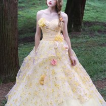 Wedding Gowns Yellow 73 1000 Images About Yellow Wedding Dress On