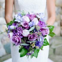 Wedding Ideas 20 Gorgeous Purple Wedding Bouquets