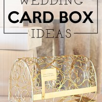 Wedding Reception Gift Card Holder Birdcage Wedding Box Gift Card