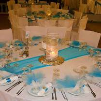Wedding Table Setting Granprix For