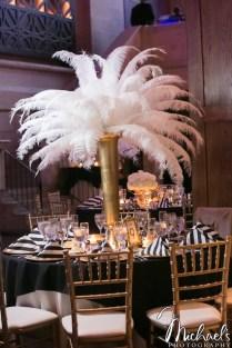 Wedding Wednesday Glitzy Ivory, Black And Gold