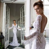 Wholesale Open Back Wedding Dresses