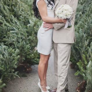 Winter Courthouse Wedding Dress
