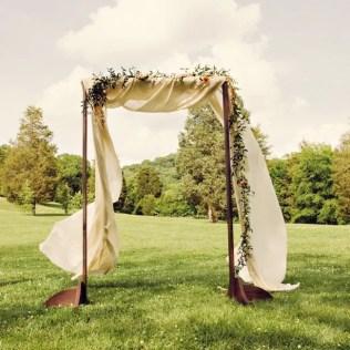 Wooden Wedding Arch