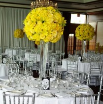 Yellow Decoration For Wedding