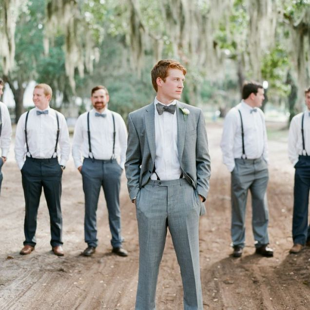 10 Ways To Style Your Groom (and His Men) Vintage Chic Vintage