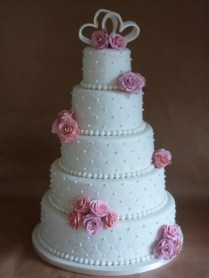 17 Best Ideas About 5 Tier Wedding Cakes On Emasscraft Org