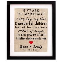 17 Best Ideas About 5th Wedding Anniversary Gift On Emasscraft Org