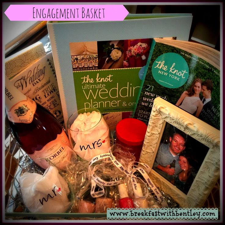 Wedding Planning Gift Basket