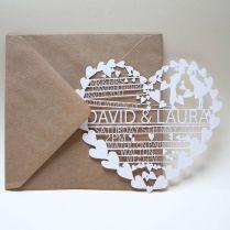 17 Best Ideas About Laser Cut Wedding Invitations On Emasscraft Org