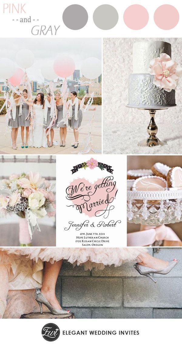 17 Best Ideas About Pink Grey Wedding On Emasscraft Org