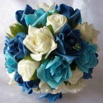 17 Best Ideas About Teal Wedding Bouquet On Emasscraft Org