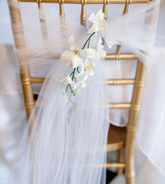 17 Best Images About Diy Tulle Wedding Decorations On Emasscraft Org
