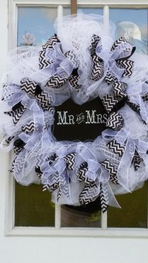 17 Best Images About Wedding Mesh Wreaths On Emasscraft Org