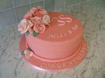 35 Wedding Anniversary Cake