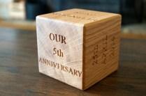 5 Year Wedding Anniversary Ideas