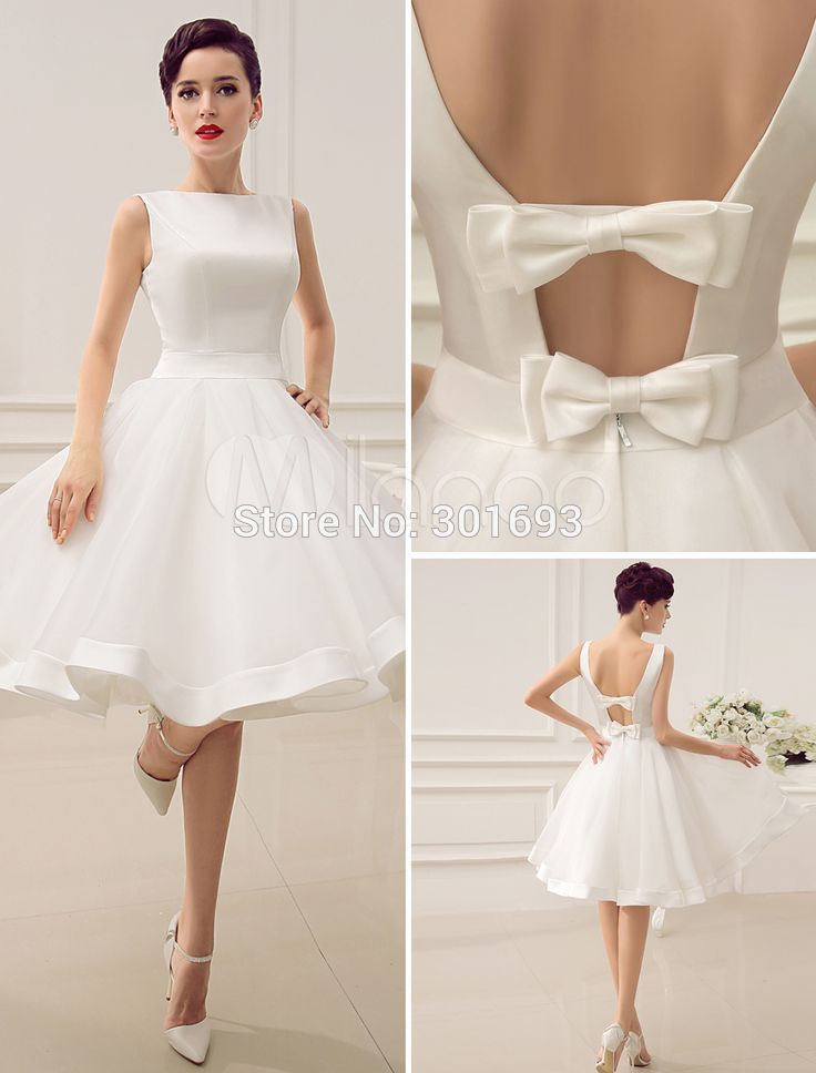 Organza Short Dress