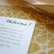 Alive & Kicking Screen Printed Wedding Paper Suite Islamic