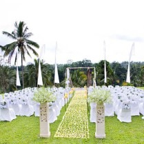 Attractive Outdoor Wedding Decoration Ideas Outside Wedding
