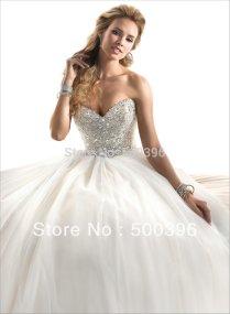Backless Princess Wedding Dress