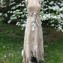Balance Due On White Leather Wedding Dress Native American