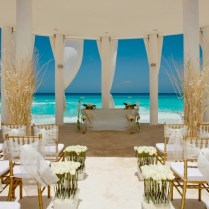 Beach Wedding Decorations Throughout 1000 Ideas About Beach