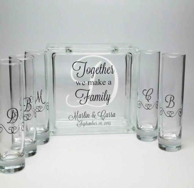 Blended Family Sand Ceremony Set