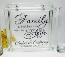 Blended Family Wedding Sand Ceremony