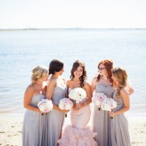 Blush And Gray Whimsical Wedding