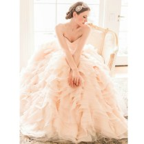 Blush Coloured Wedding Dresses On Wedding Dresses With Popular