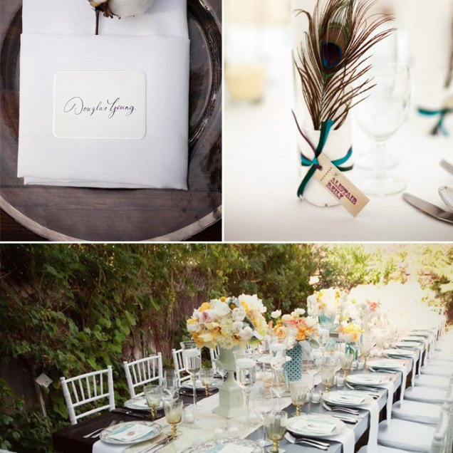 Building Your Reception Table And Place Settings