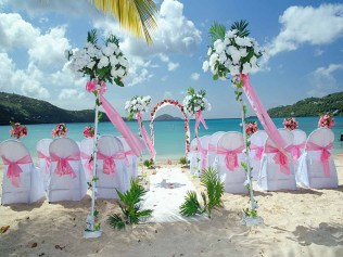 Cheap Beach Wedding Decorations On Decorations With Beach Weddings