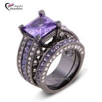 Collection Black And Purple Engagement Rings Pictures