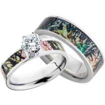 Collection Camo Wedding Ring Sets His And Hers Pictures