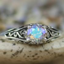 Collection Rainbow Engagement Ring Pictures