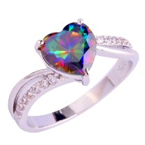 Collection Rainbow Engagement Rings Pictures