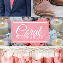 Coral Wedding Color – Combination Options You Don't Want To