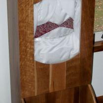 Custom Wedding Dress Display Case By Clayton Road Woodworking
