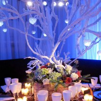 Decorating Simple Ideas For Unique Winter Wedding Centerpieces On