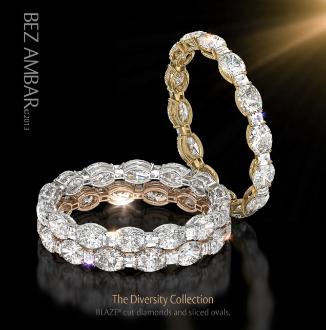 Do Not Miss The Unique Design Of The Diversity Eternity Bands! An