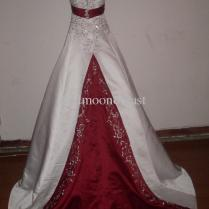 Dresses Burgundy And White
