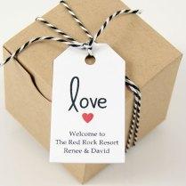 Eat Wedding Favor Labels Custom Print Clear Address Labels 2 X 1