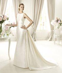 Elegant Silk Wedding Dresses With Sleeves