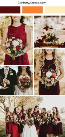 Fall Wedding Color Palettes That Are The Sheer Definition Of 'divine'