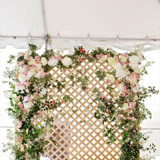 Flower Backdrops For Weddings