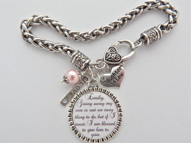 Future Daughter In Law Bracelet, Daughter In Law Gift, Bride To Be