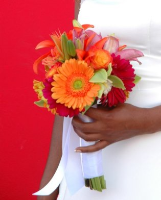 Gerber Daisy Wedding Flowers