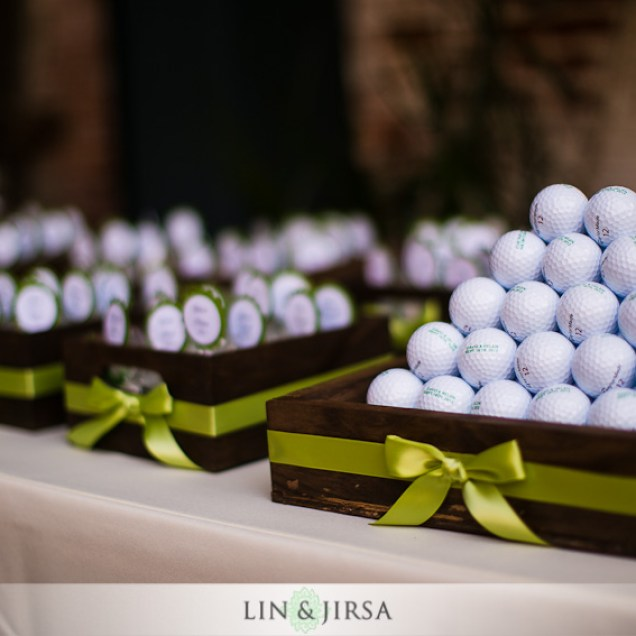Golf Themed Wedding Favors